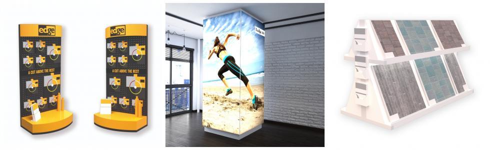Point of sale retail custom displays