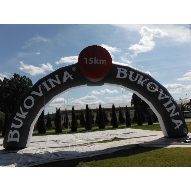 Round custom race arch