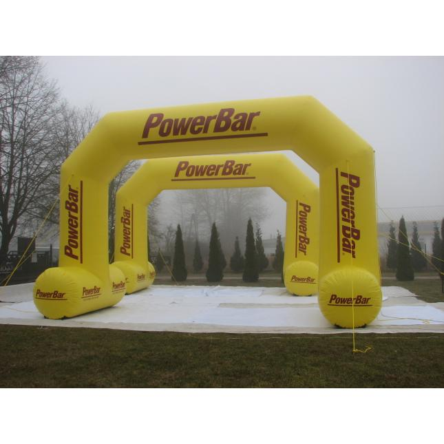 Bespoke inflatable race arch