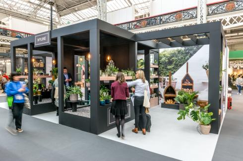Custom exhibition stand builder