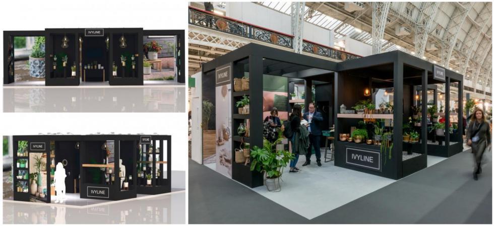 Custom exhibition stand for Ivyline