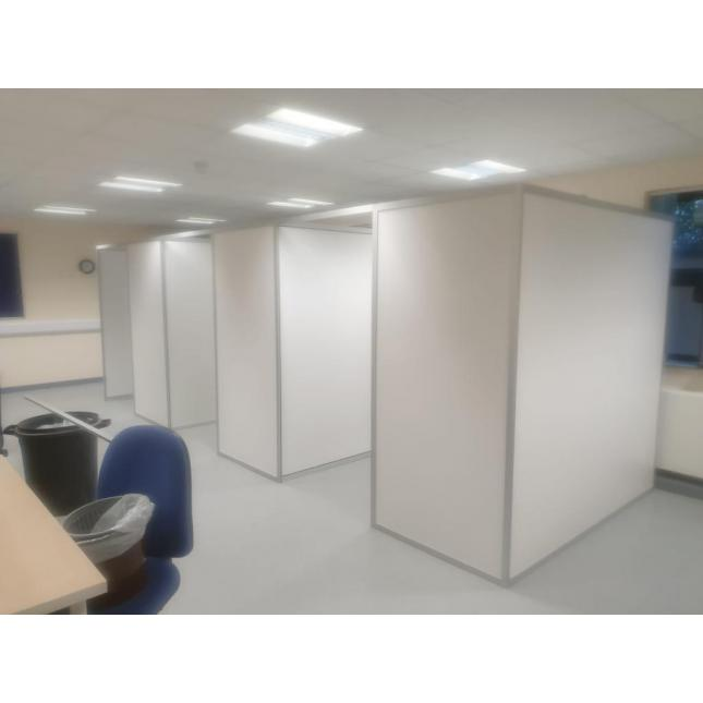 2m COVID Vaccination Booth