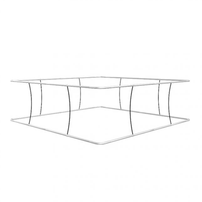 Framework for square hanging structure