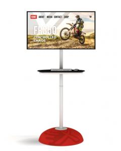 Monitor Stand with Bubble Base
