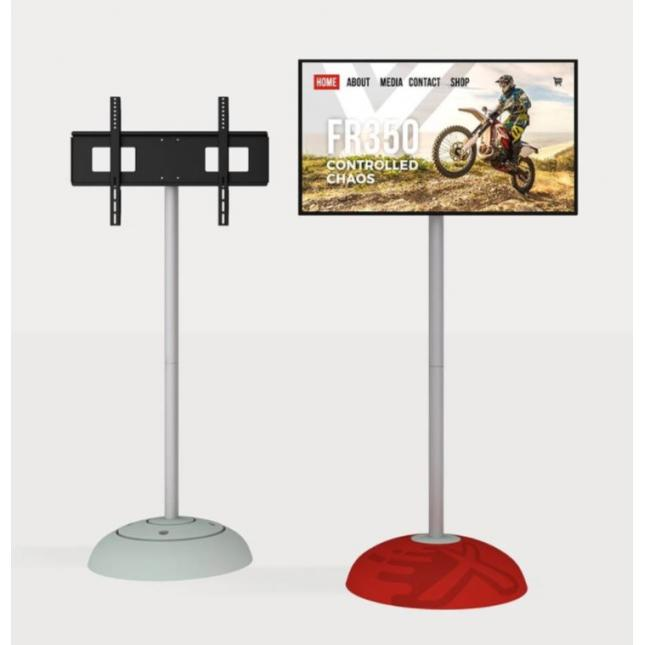 TV bracket included with monitor display stand
