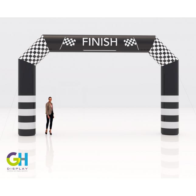 7.6m custom printed inflatable arch