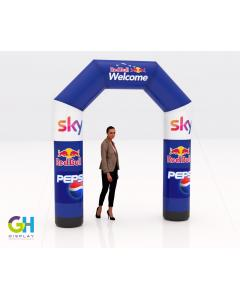 2.5m Printed Inflatable Arch