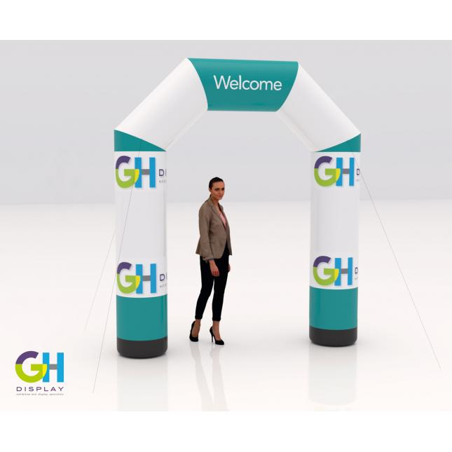 2.5m inflatable printed arch