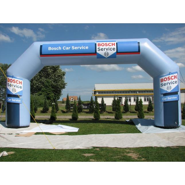 9.6m Bosch inflatable race arch