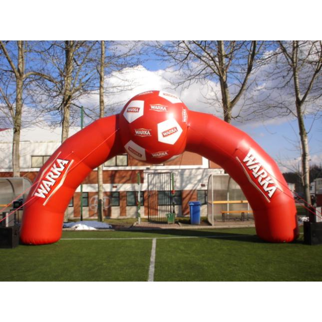 Football inflatable arch
