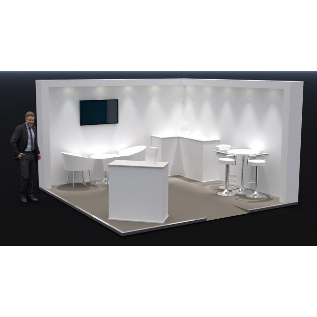 Exhibition display stands for hire