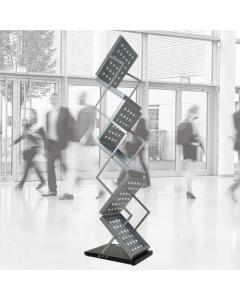 A4 Zed-Up Literature Stand