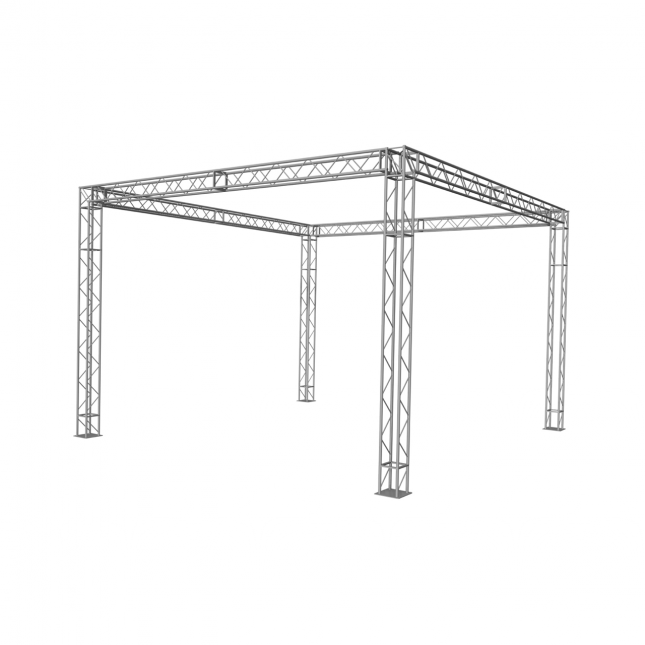 Arena freestanding square stand image