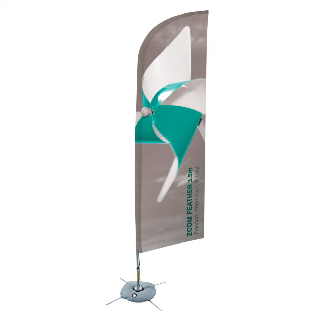 Zoom Feather Flag image