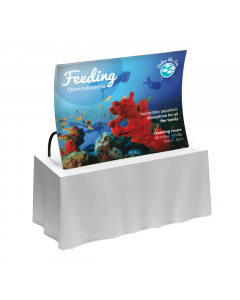 Formulate Table Top Fabric Display