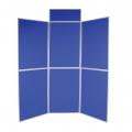 6 Panel folding display boards image