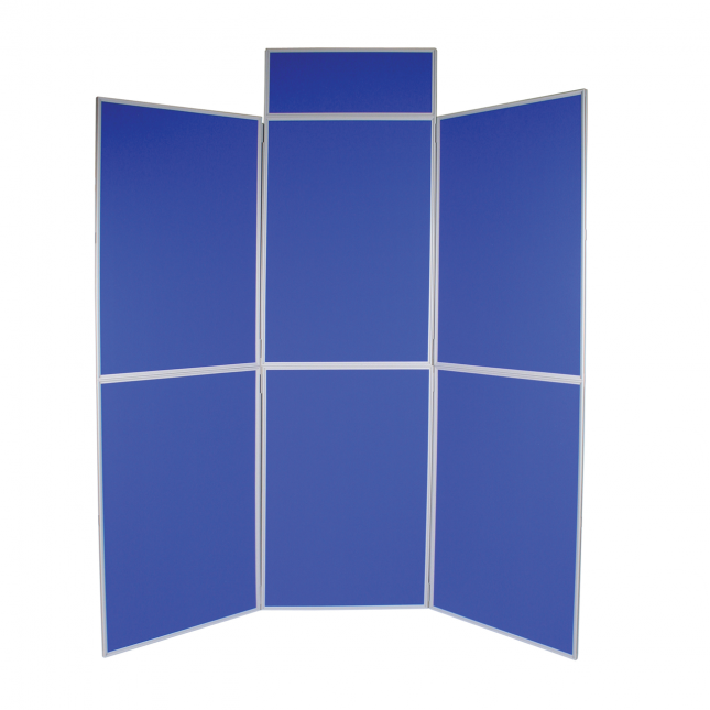 6 Panel folding display boards image