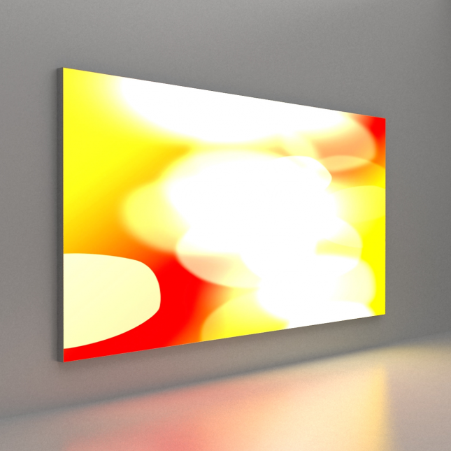 65mm Tension Fabric System Lightbox Wall Mounted image