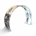 Tension Fabric System Archway Curved Double Sided image