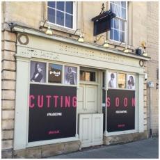 Pkai Hair Salon window graphics