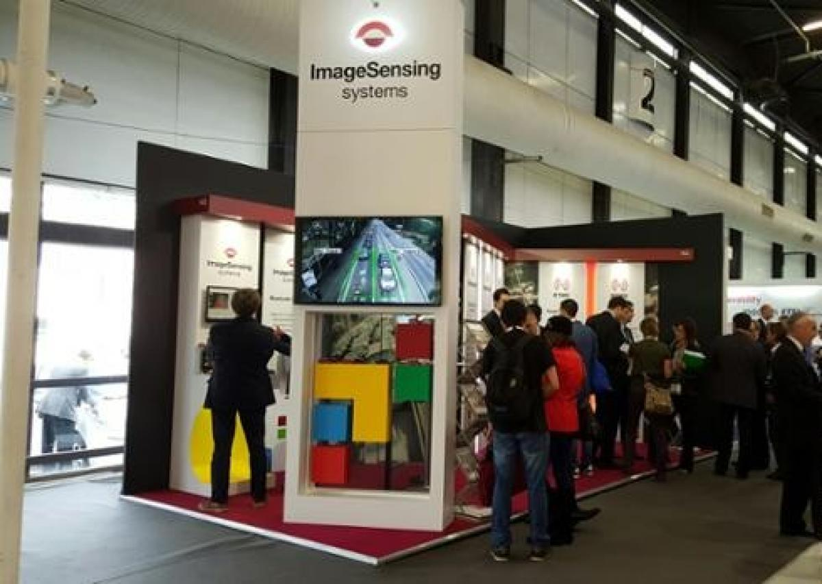 Image sensing system exhibition stand at ITS World Congress