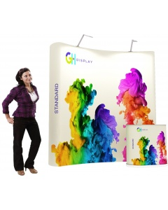 3 x 2 Standard pop up display bundle