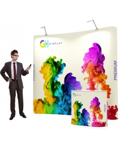 3 x 2 Premium Pop Up Display Bundle