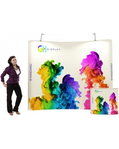 3 x 3 Standard pop up display bundle