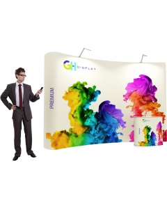3 x 4 Premium Pop Up Display Bundle