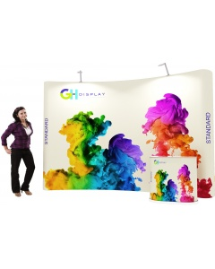 3 x 4 Standard pop up display bundle