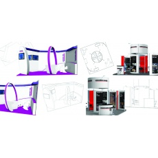 Free 3D exhibition stand design