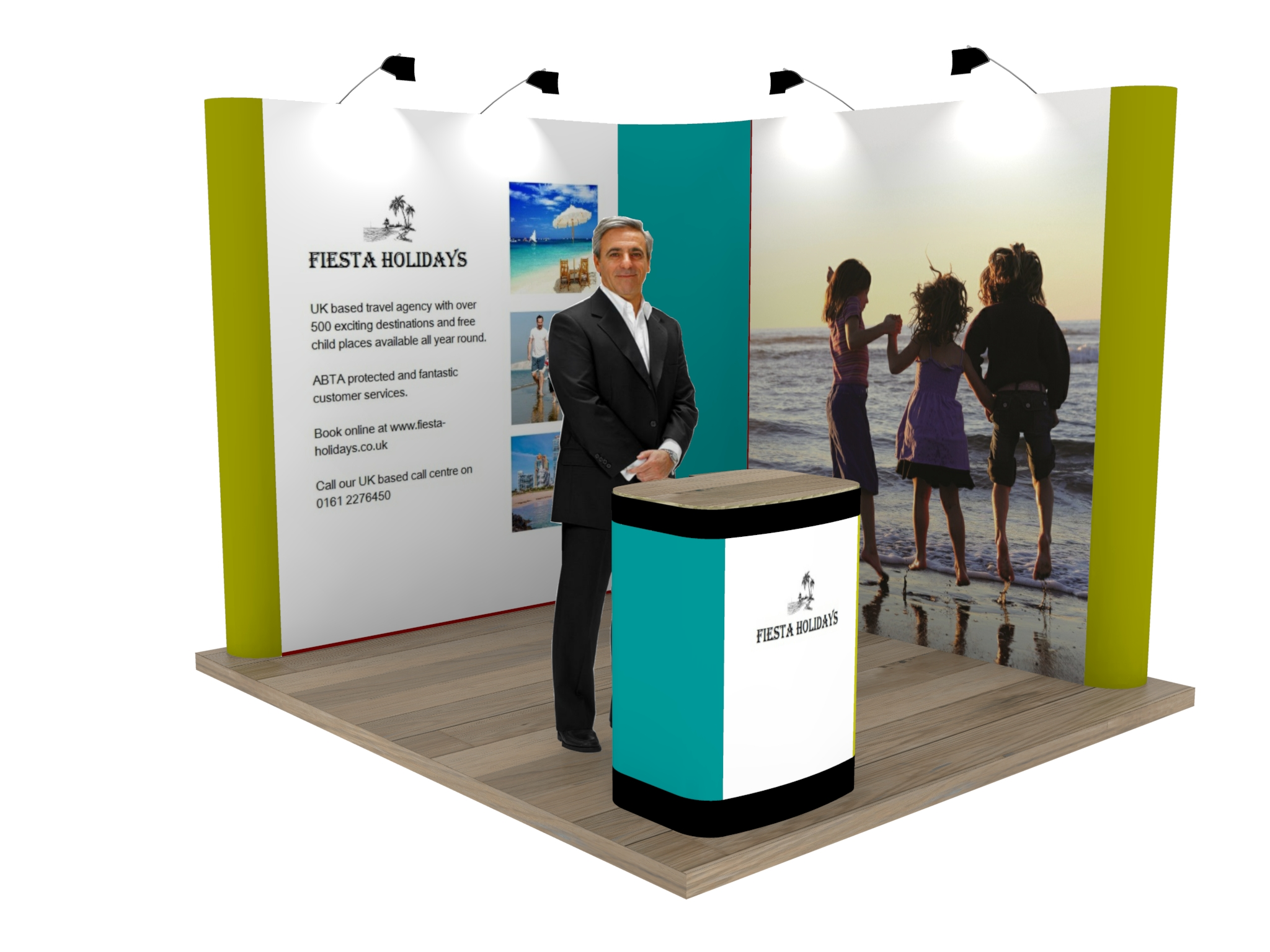 Corner Exhibition Stands Uk : L shaped pop up exhibition stand modular