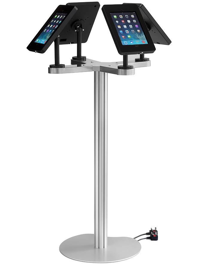 Ipad Exhibition Stand Hire : Ipad quad stand display stands tablet gh